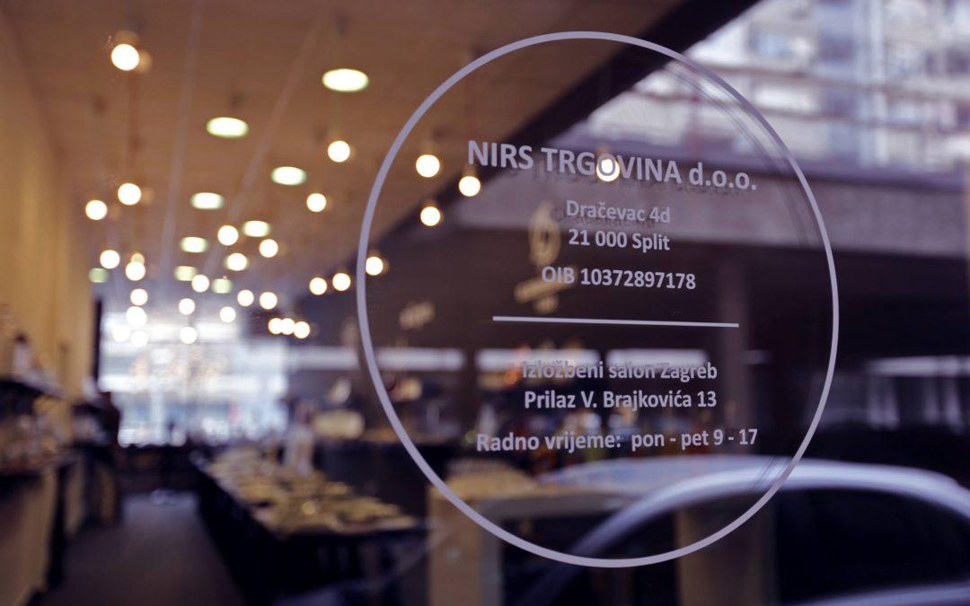 NIRS TRGOVINA otvorenje izložbenog salona Zagreb